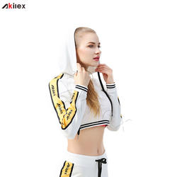 High Quality Cotton Spandex Custom Athletic Wear Women Tracksuit Set