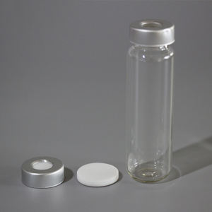 10mm 10ml flip off glass tubular crimp Top gas chromatography vial for GC-MS