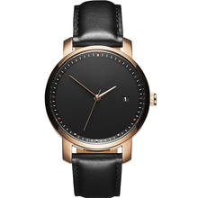 Fashion Minimalist Watch Leather Japanese Movement Watch Women Lady Luxury Watch