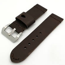 Watch accessories 24mm 26mm men's watch leather strap