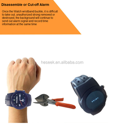 Long Battery Life Smart GPS Positioning Anti-dismantle Watch for Prisoners/Elders/ Dementia and Alzheimer Patients