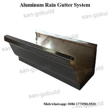 Aluminum Rain Gutter Aluminum Rain Gutter Direct From