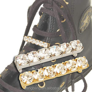 Jeweled Shoe Lace Charm accessories