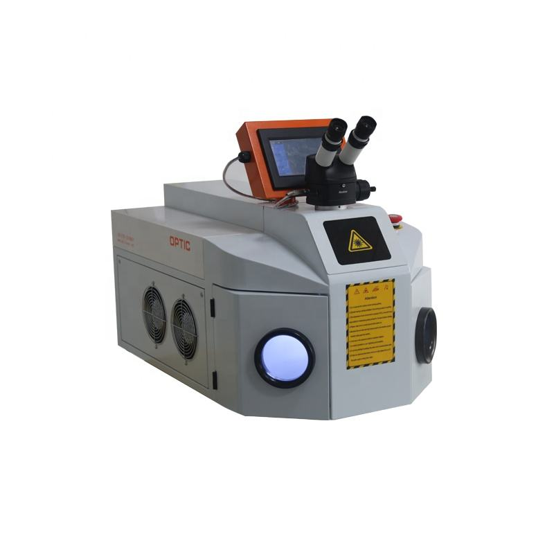 Laser spot welder desktop 200W gold jewelry silver laser welding machine for bracelet price
