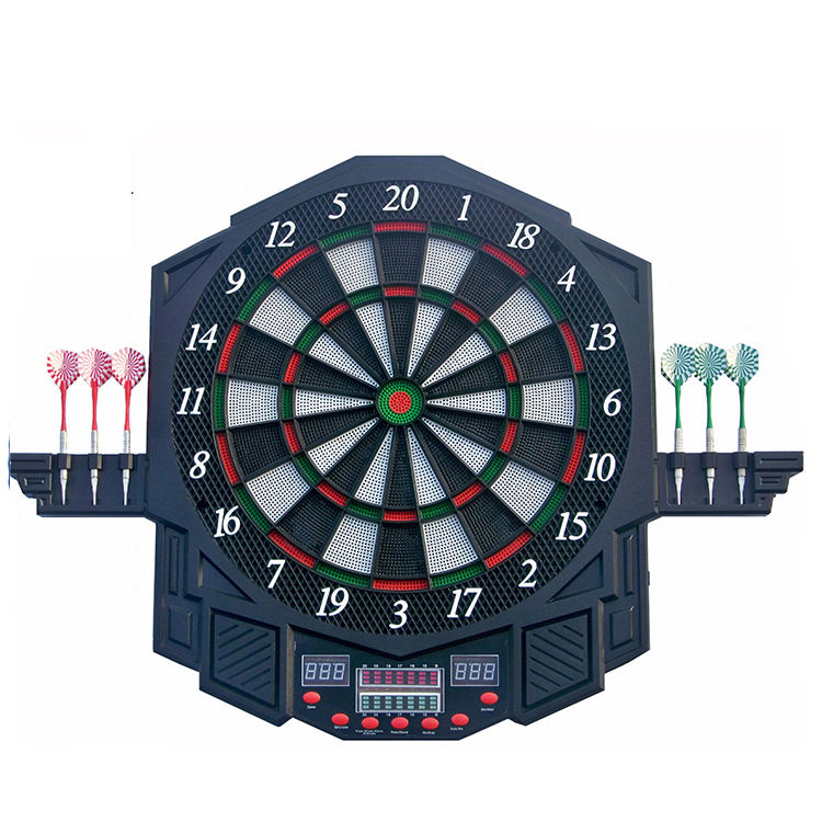 Personalized and Safety Plastic Tip Electronic Dartboard