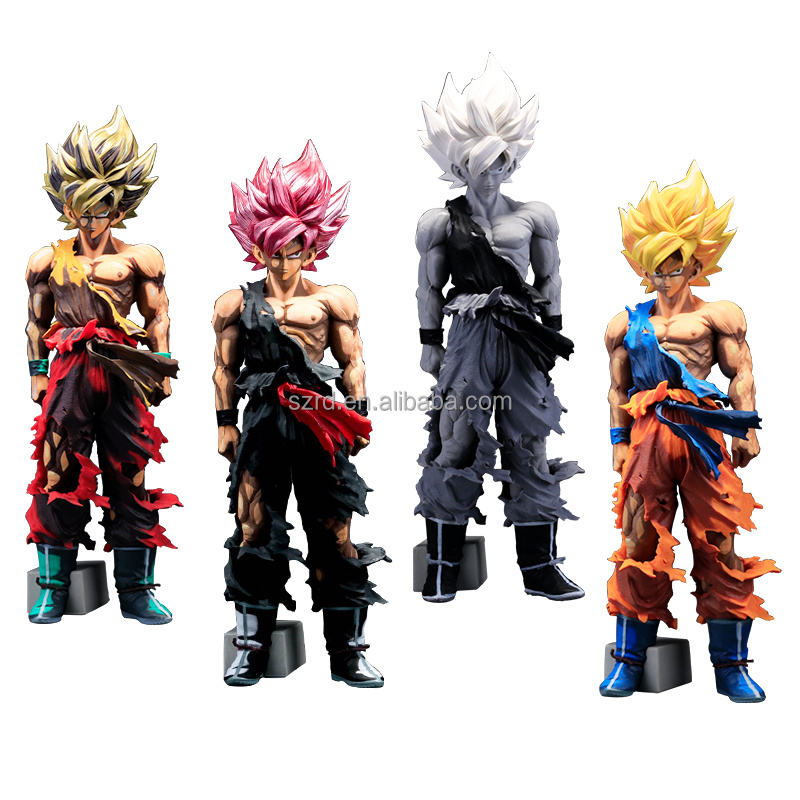 2018 shiny custom hot speelgoed 3d dragon ball z pvc action figures koop
