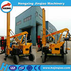 Safety road guard rail hydraulic puller,Hydraulic press pile driver