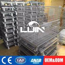 Custom-made Mesh Warehouse Metal Roll Storage Cage Rack