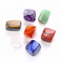 Chakra Stones Palm Natural Stone Reiki Healing Crystals Gemstones Decor chakra stones for meditation gifts