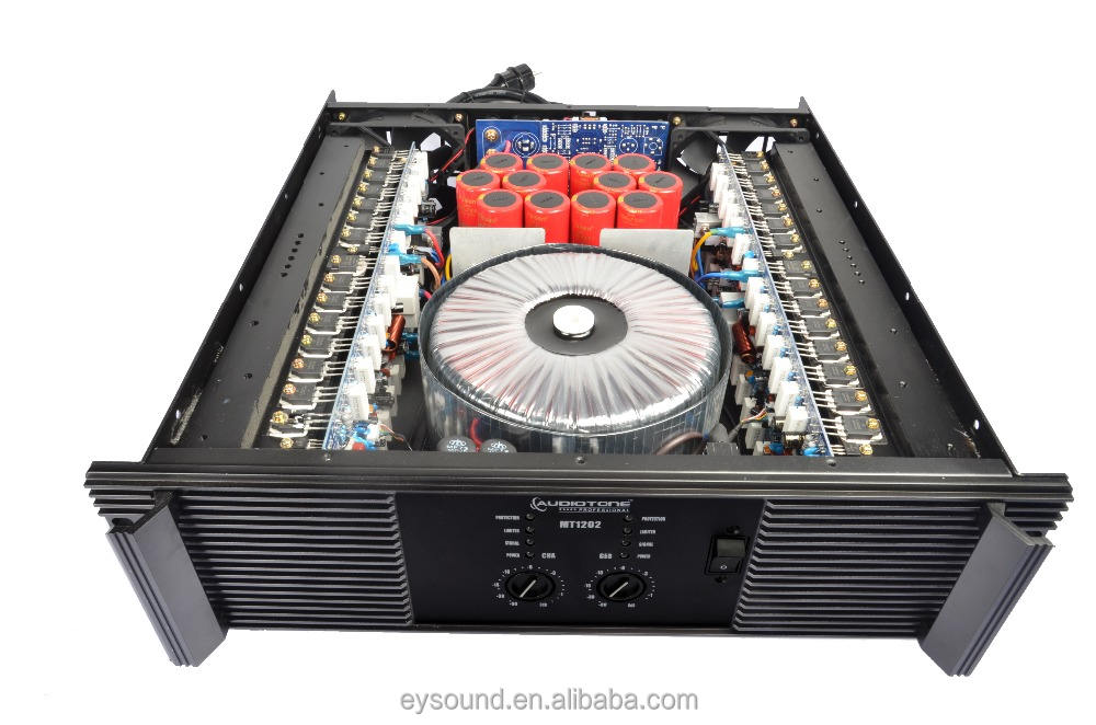 MT1601 2500W 2 ohm High Quality Brand Name Amplifier