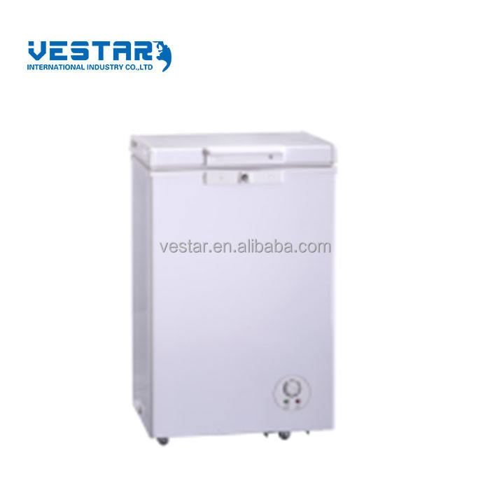 R134a refrigerant BD(W)80 model deep chest single door freezer with handle