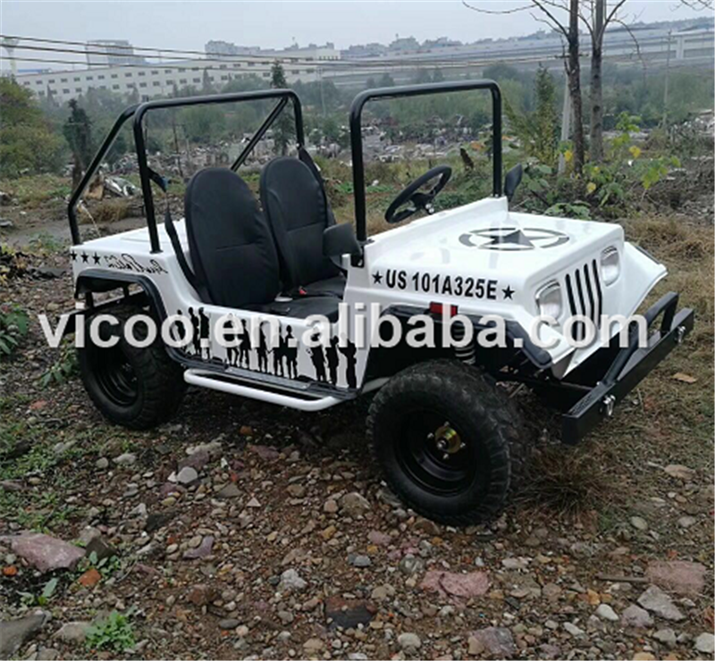 Adultes 300cc Mini Willys quad 4x4 importation de vélo en Inde