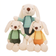 Wholesale custom decoration cute long-eared rabbit plush stuffed toys