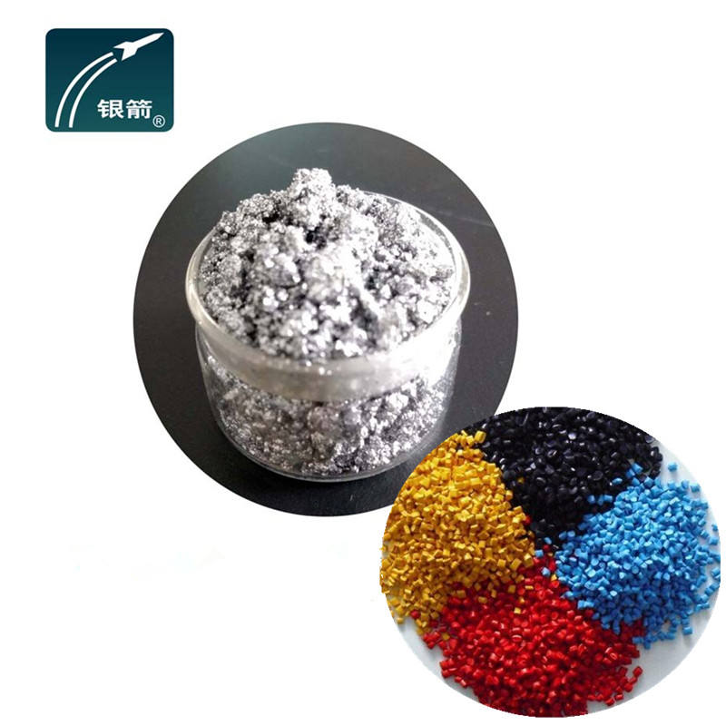 Aluminium pigment for Master-batch use with metallic effect