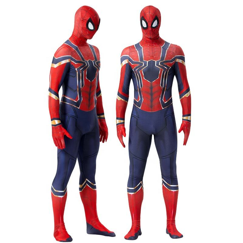 Amazon Hot Selling Halloween Full Body Pak Spider Man Kostuum