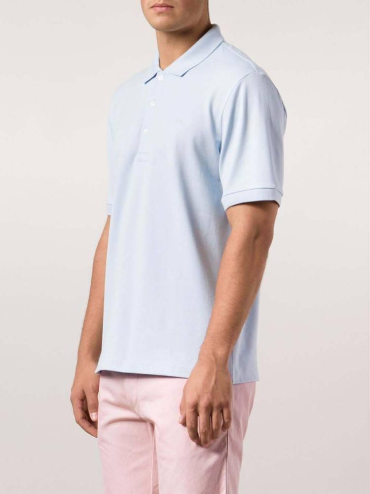 면 일반 흰색 폴로 t- 셔츠, 폴로 피케, 남성 슬림 맞춤 폴로 셔츠
