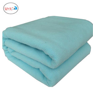Free sample customization single use fleece Disposable blanket for hotel