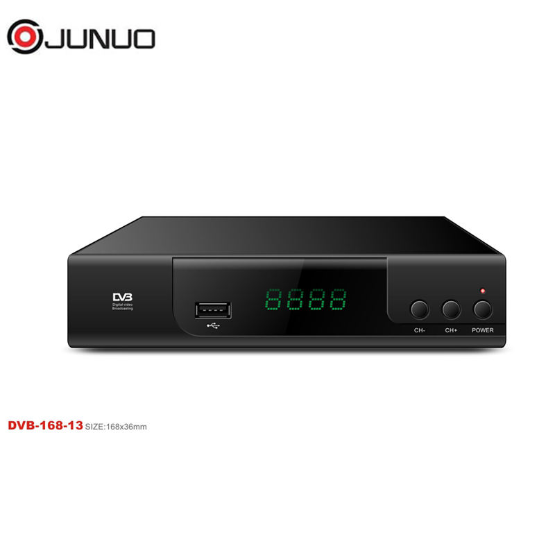 JUNUO china DVB manufacturer OEM hd satellite receiver support wifi bliss key Dvb-S2 Receiver