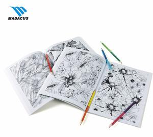high quality factory supply custom coloring book printing for kids
