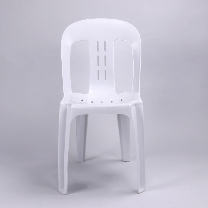 heavy duty plastic dining chair stackable monoblock chair pipee chair
