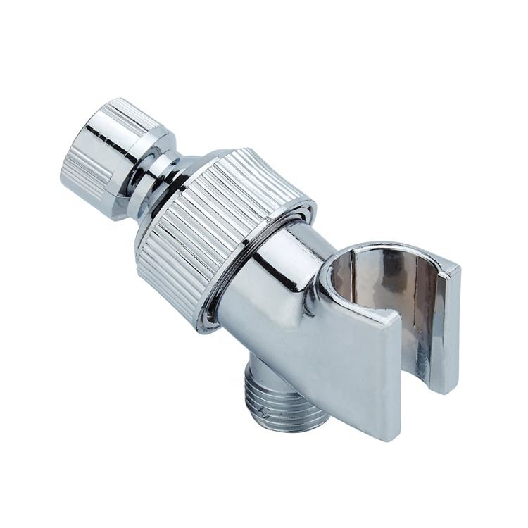 American Style Adjustable Plastic Bathroom Accessories Hand Shower Holder with Universal Showerr Head Connector