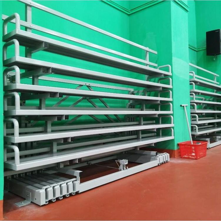 Metal structural retractable seating prices bleachers seating portable grandstand