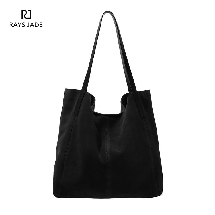 brand name leather lady women hobo handbag in smooth leather with bow