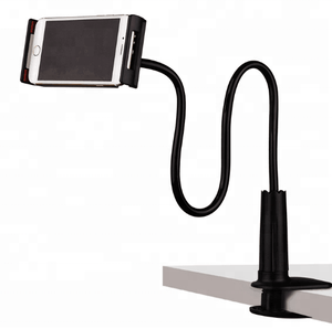 Long Flexible 360 Clip Shapeable Universal Desktop Tablet Lazy Cell Phone Holder