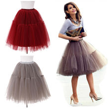 High Quality Wholesale Adult Tutu Skirt Women Girls Dancewear Tulle Fluffy Pettiskirt Ballet Tutu Skirt
