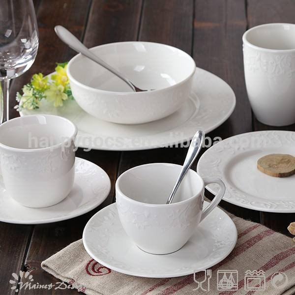2015 canton fair neues Produkte geprägten keramik china porzellan geschirr, großhandel keramik china porzellan geschirr