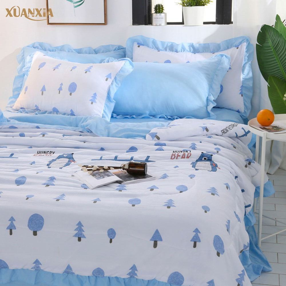 Cotton Air Conditioning Quilt Core Summer Quilt in 2019
