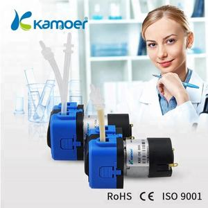Kamoer KXF mini peristaltic pump dc 6v/12v/24v dosing water pump Adjustable Flow Rate Low Pressure For Liquid Transferring