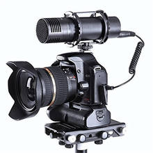 BY-VM300PS Broadcast Quality Stereo Video Microphone Mic for DSLR Cameras Camcorder and Portable Audio Recorders for dslr camera