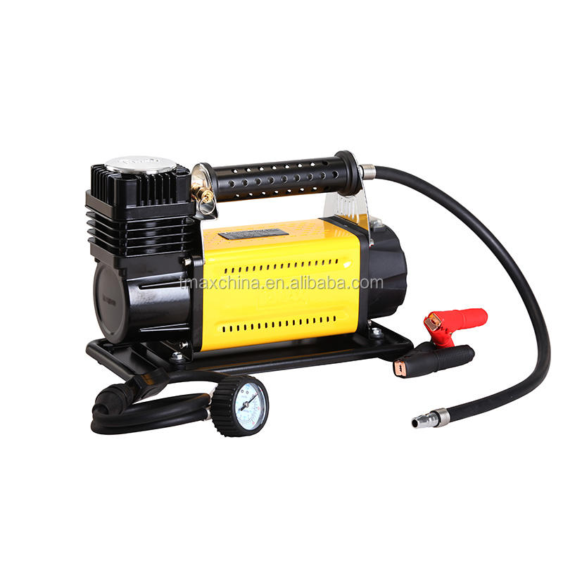high quality 12V Metal car air auto compressor