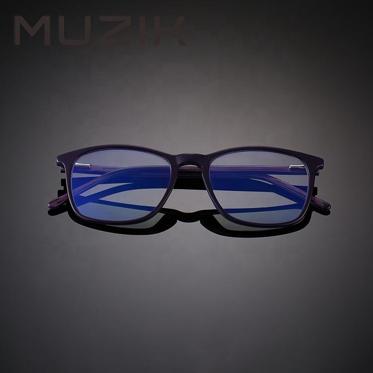 CB3298 Commercio All'ingrosso ultra sottile mens anti luce blu lens montatura da vista in acetato occhiali da vista