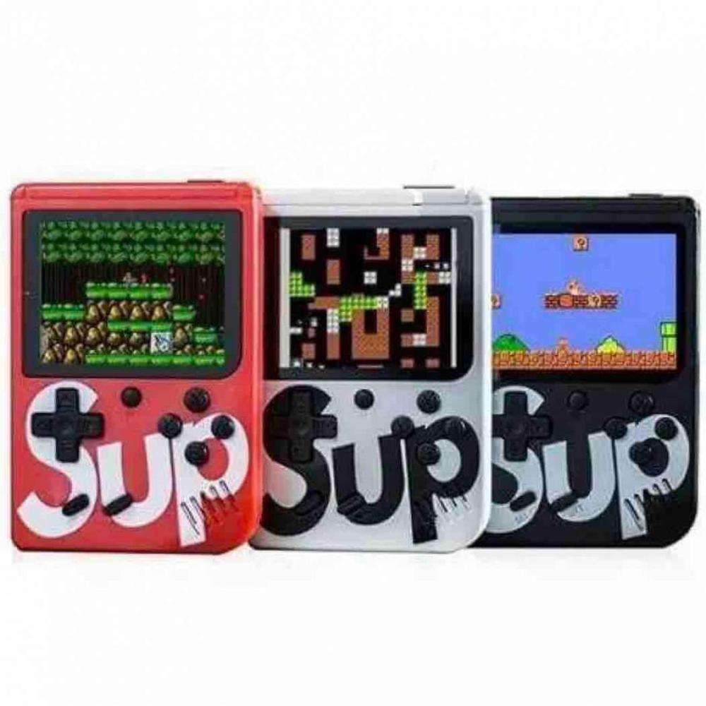 Best Christmas Gift Sup Console Game Box 400 in 1 Classic Games Retro Handheld Mini Game Console