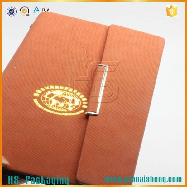 Pu couverture diary carnets doublé en cuir italien journaux et Diaries hardcaver portable