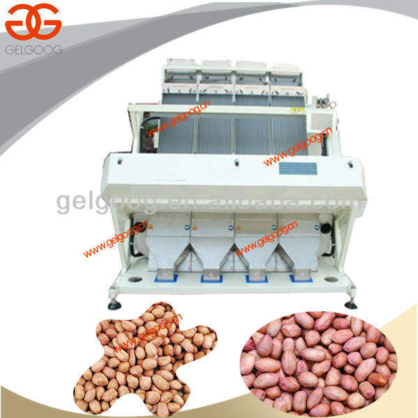 Peanut Color Sorting Machine|High efficiency peanut color separator machine