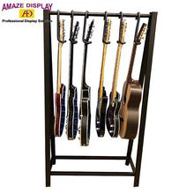 metal material guitar hanger clothes display rack
