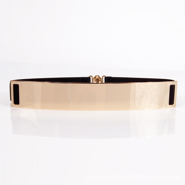 KDA8870 Fashion hot gold metal waist sweat belt