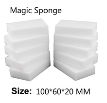 Magic Sponge Eraser Kitchen duster wipes Home Clean Accessory/Microfiber Dish Cleaning Melamine sponge nano 10*6*2cm