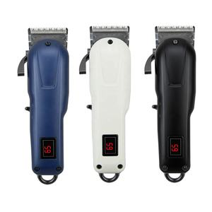 Neu gestalteten berufs wiederaufladbare cordless professionelle salon private label bart haar trimmer elektrische haar clipper