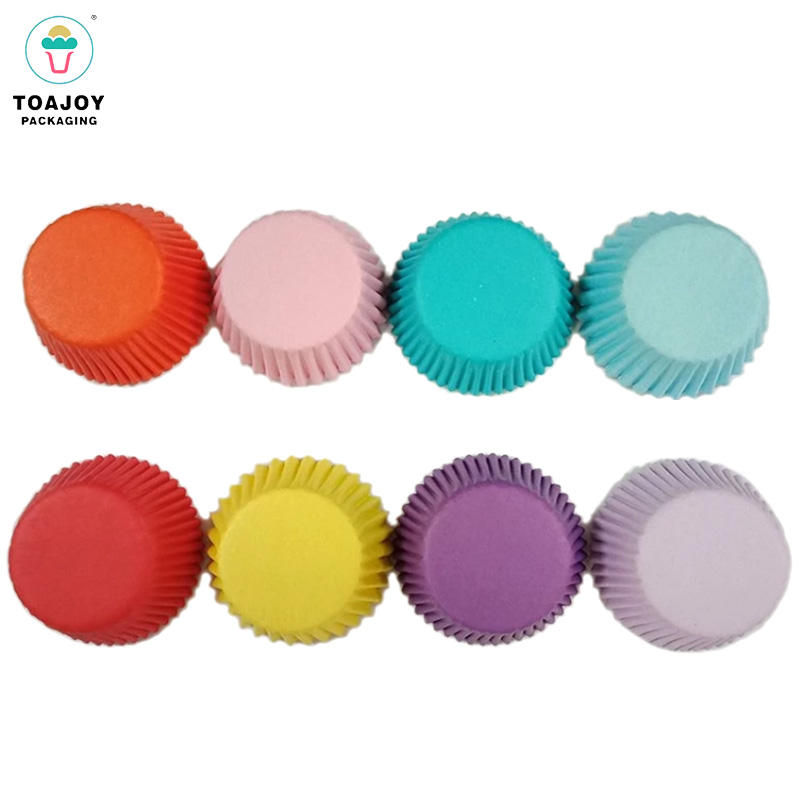 Disposable greaseproof paper baking cups cake wrapper muffin mini cupcake liner