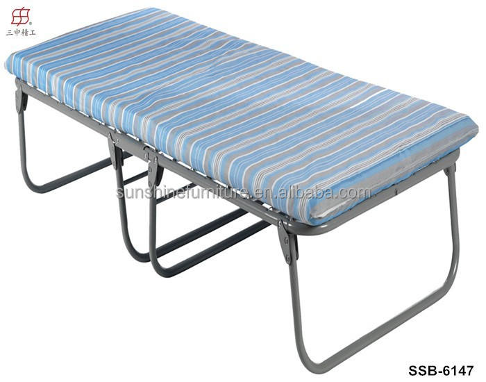 Portable Heavy Duty Single Twin Size Steel Camping Bed Frame