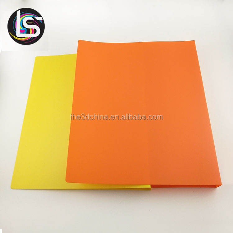 Cheap printing custom A4, A5, B4, B5 paper file presentation business card PP folder file