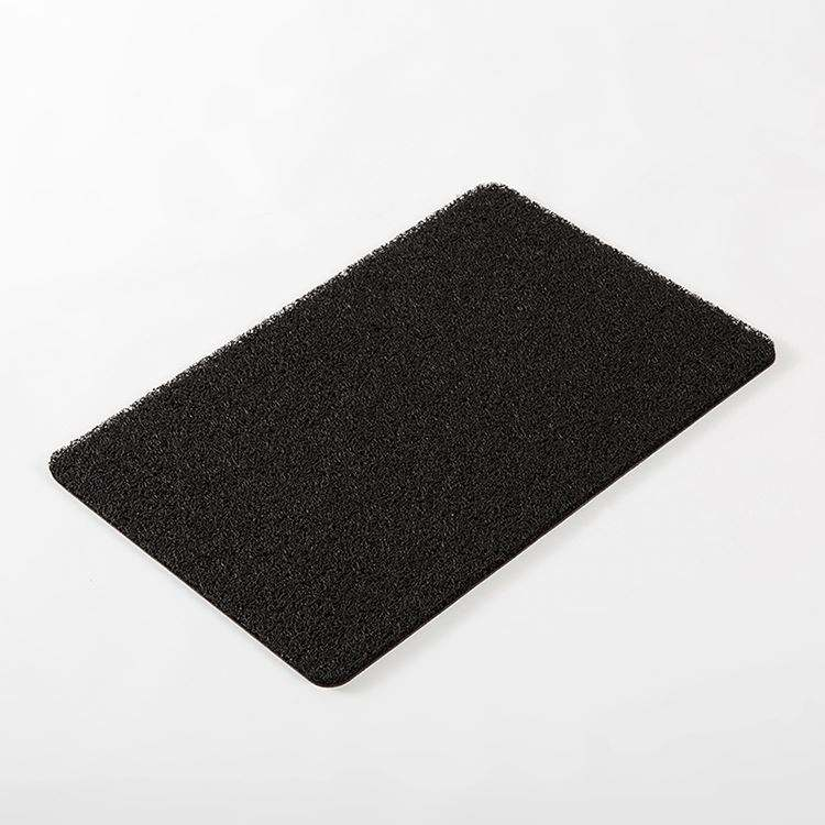 China factory direct sale custom pvc skidproof popular soft coil mat