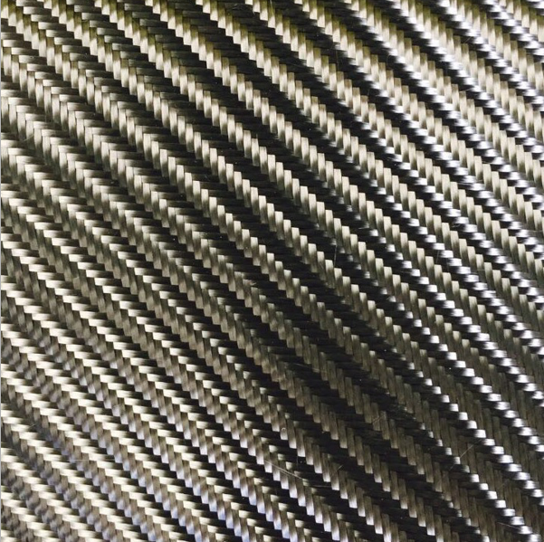 4*4 big twill weave 100% carbon fiber fabric 280gsm 300gsm for car decoration