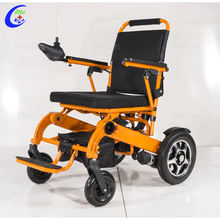 Lightweight Foldable Electric Power Wheelchair With Lithium Battery For Elderly People