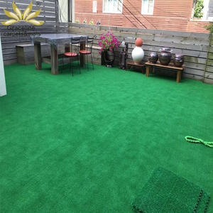 garden landscape green waterproof turf no infill colored artificial grass