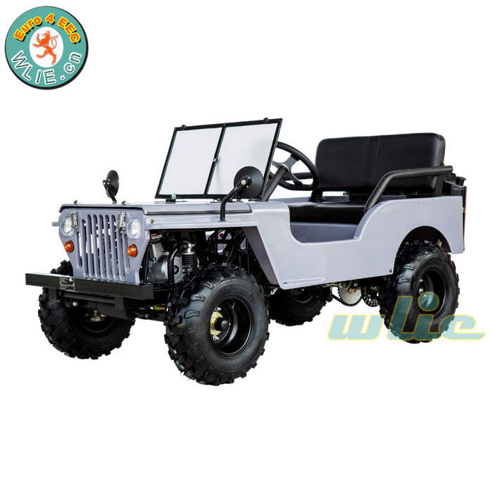 New arrival mini moke jeep made in china for sale Willys 50cc, 110ccc, 125cc, 150cc
